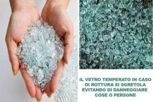 vetri antinfortunistici stratificati o temperati
